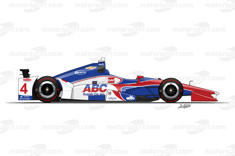 #4 - Conor Daly, A.J. Foyt Enterprises Chevrolet