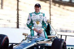 Ed Carpenter, Ed Carpenter Racing Chevrolet poses for front row photos