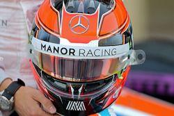 Il casco di Esteban Ocon, Manor Racing