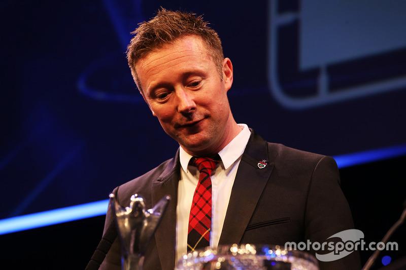 Gordon Shedden, ganador del premio al Piloto Nacional del año.