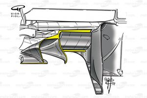 Ferrari F2002 (653) 2002 stepped diffusor
