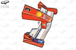 Aileron avant de la Ferrari F1-2000 (651), Monaco