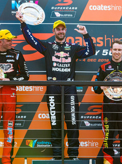 Podium : le vainqueur Shane van Gisbergen, Triple Eight Race Engineering Holden