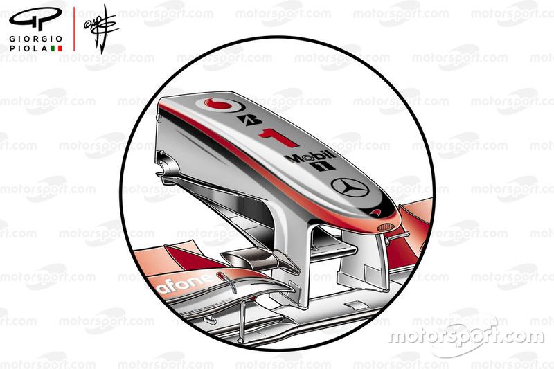 McLaren MP4-25 nose