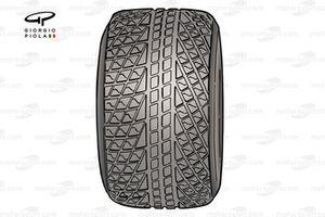 2007 Bridgestone wet tyre