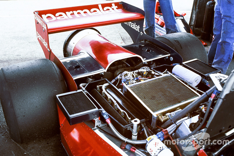 The Brabham BT46B Alfa Romeo fan car rear end