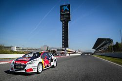 The car of Sebastien Loeb, Team Peugeot-Hansen, Peugeot 208 WRX