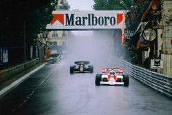 Alain Prost, McLaren MP4/2, Nigel Mansell, Lotus 95T