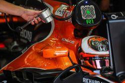 Luchtblazer voor Stoffel Vandoorne, McLaren MCL32