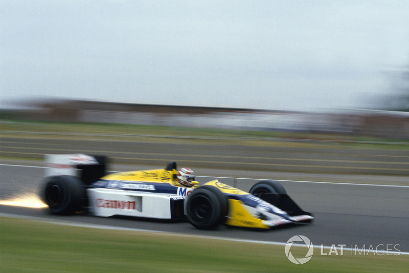 #20: Nelson Piquet, Williams FW11B, Silverstone 1987: 1:07.110