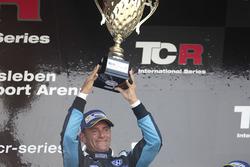 Podium: Race winner Gianni Morbidelli, West Coast Racing, Volkswagen Golf GTi TCR
