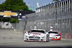 #8 TA Ford Mustang, Tomy Drissi, Tony Ave Racing, #59 TA Chevrolet Corvette driven Simon Gregg, Derh
