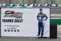 Dankesgruß an Dale Earnhardt Jr.