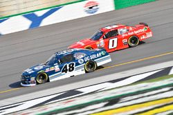 Brennan Poole, Chip Ganassi Racing Chevrolet, Garrett Smithley, JD Motorsports Chevrolet