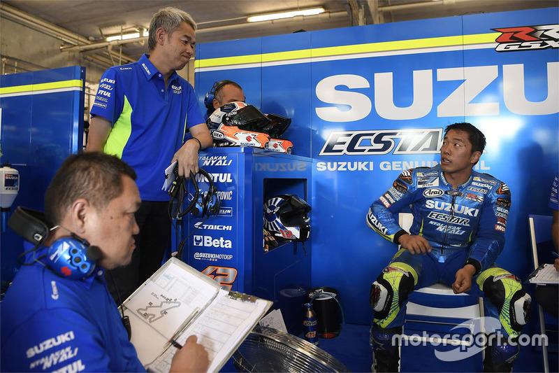Shinichi Sahara, responsable du projet Team Suzuki MotoGP