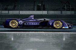 Fantasy Maserati Formula E rendering