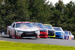 James Davison, Joe Gibbs Racing Toyota, Ben Kennedy, Richard Childress Racing Chevrolet