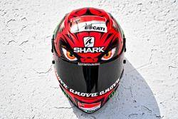 Helm von Jorge Lorenzo, Ducati Team, mit Sonderdesign