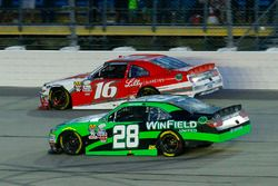 Dakoda Armstrong, JGL Racing Toyota and Ryan Reed, Roush Fenway Racing Ford