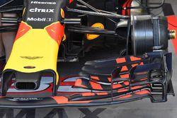 L'avant de la Red Bull Racing RB13