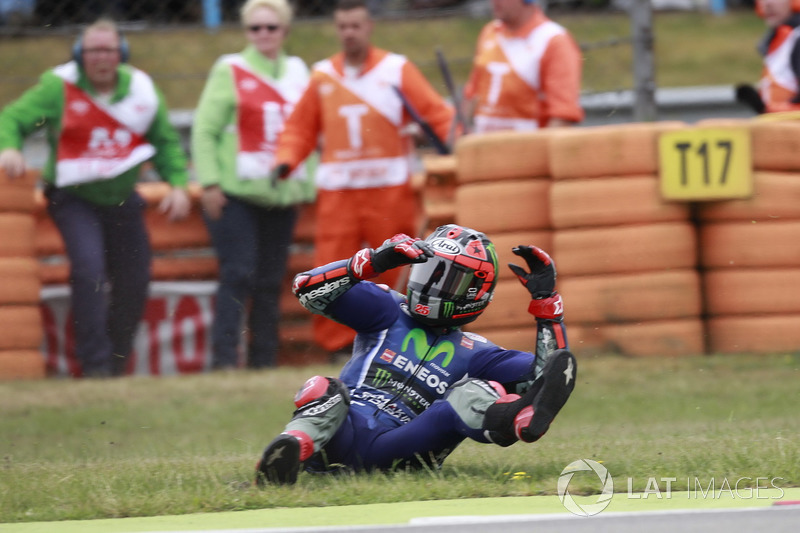 Maverick Viñales, 6 crashes