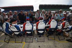 #39 Graff Racing Oreca 07 Gibson: James Allen, Franck Matelli, Richard Bradley, #40 Graff Racing Ore