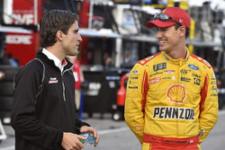 Joey Logano, Team Penske Ford and Travis Geisler