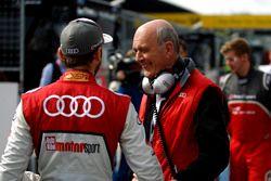 Гонщик Audi Sport Team Rosberg Рене Раст и бывший руководитель Audi Sport Вольфганг Ульрих