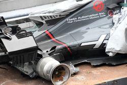 حادث سيارة رومان غروجان، هاس