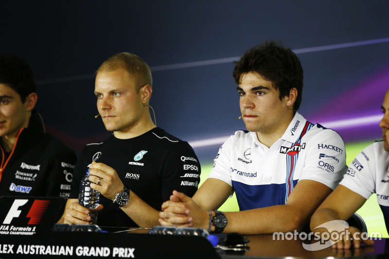 Esteban Ocon, Force India, Valtteri Bottas, Mercedes AMG, Lance Stroll, Williams y Felipe Massa, Williams