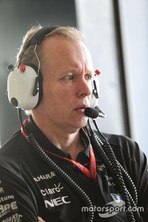 Andrew Green, Sahara Force India F1 Team director técnico