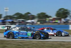 #14 3GT Racing, Lexus RCF GT3: Scott Pruett, Ian James, Sage Karam; #67 Ford Performance Chip Ganass
