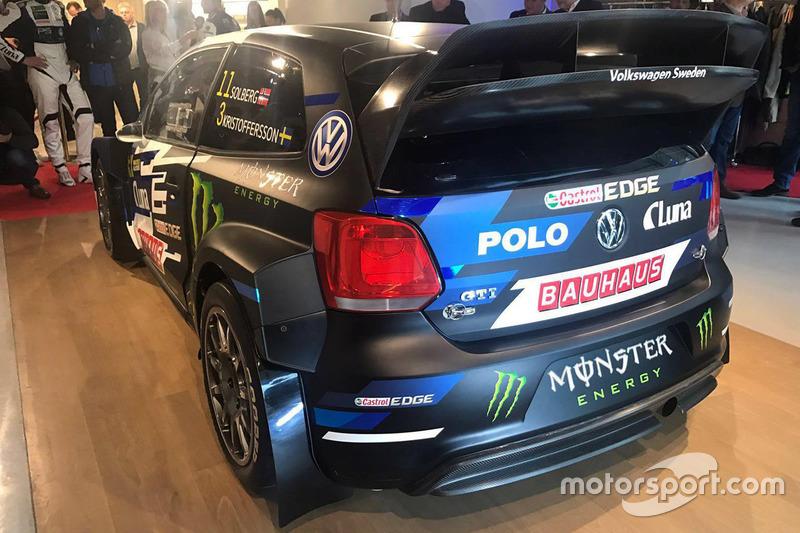 Автомобиль команды PSRX Volkswagen Sweden