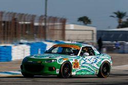 #26 Freedom Autosport Mazda MX-5: Andrew Carbonell, Liam Dwye
