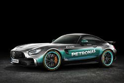 Mercedes AMG GT in Mercedes AMG F1 livery