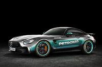 Mercedes AMG GT im Mercedes-Design