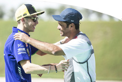 Valentino Rossi, Yamaha Factory Racing, Nasser Al-Attiyah au club de tir de Losail