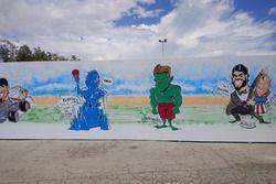 Muurschildering Circuit de Barcelona-Catalunya
