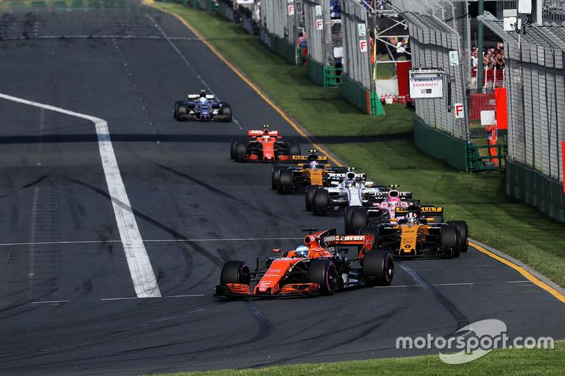 Fernando Alonso, Abandono