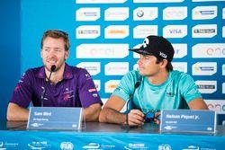 Sam Bird, DS Virgin Racing, Spark-Citroen, Virgin DSV-02 en Nelson Piquet, NEXTEV TCR Formula E Team