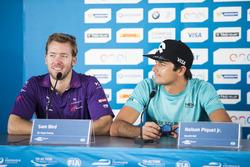 Sam Bird, DS Virgin Racing, Spark-Citroen, Virgin DSV-02 e Nelson Piquet, NEXTEV TCR Formula E Team,