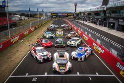 Bathurst 12 Hour cars group photo