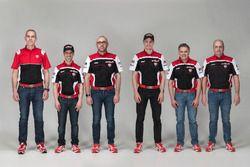 Marco Melandri ve Chaz Davies, Ducati Team