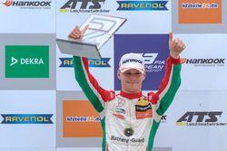 Podium, second place, Maximilian Günther, Prema Powerteam Dallara F317 - Mercedes-Benz