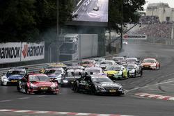 Start, Robert Wickens, Mercedes-AMG Team HWA, Mercedes-AMG C63 DTM lider