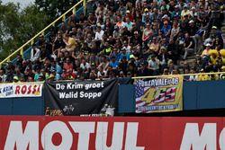 Fans von Valentino Rossi und Nicky Hayden