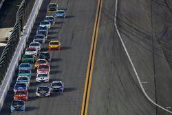 Brad Keselowski, Team Penske Ford Kevin Harvick, Stewart-Haas Racing Ford Jamie McMurray, Chip Ganas