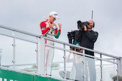 Podium: Race winner Maximilian Günther, Prema Powerteam Dallara F317 - Mercedes-Benz