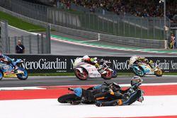 Crash: Andrea Migno, Sky Racing Team VR46