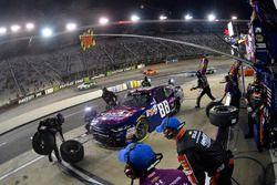Dale Earnhardt Jr., JR Motorsports Chevrolet, pit stop